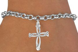 <bR>              EXCLUSIVELY OURS!!<BR>CLICK HERE TO SEE 120+ EXCITING<BR>  CHANGES THAT YOU CAN MAKE!<BR>             LEAD & NICKEL FREE!!<BR>     W506SB - PETALED CROSS &<Br>  BRACELET FROM $4.50 TO $8.35