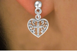<bR>               EXCLUSIVELY OURS!!<BR>CLICK HERE TO SEE 120+ EXCITING<BR>   CHANGES THAT YOU CAN MAKE!<BR>              LEAD & NICKEL FREE!!<BR>   W509SE - HEART WITH CROSS &<Br>     EARRINGS FROM $4.50 TO $8.35