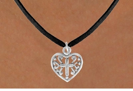 <bR>               EXCLUSIVELY OURS!!<BR>CLICK HERE TO SEE 120+ EXCITING<BR>   CHANGES THAT YOU CAN MAKE!<BR>              LEAD & NICKEL FREE!!<BR>  W509SN - HEART WITH CROSS &<BR>     NECKLACE FROM $4.50 TO $8.35