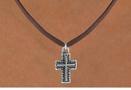 <bR>               EXCLUSIVELY OURS!!<BR>CLICK HERE TO SEE 120+ EXCITING<BR>   CHANGES THAT YOU CAN MAKE!<BR>              LEAD & NICKEL FREE!!<BR>    W512SN - CURLICUE CROSS ON<BR>     NECKLACE FROM $4.50 TO $8.35