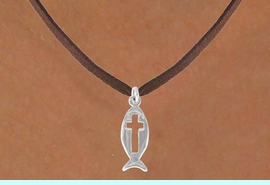<bR>               EXCLUSIVELY OURS!!<BR>CLICK HERE TO SEE 120+ EXCITING<BR>   CHANGES THAT YOU CAN MAKE!<BR>              LEAD & NICKEL FREE!!<BR>     W518SN - FISH WITH CROSS &<BR>     NECKLACE FROM $4.50 TO $8.35
