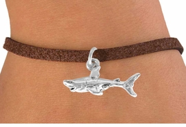 <bR>               EXCLUSIVELY OURS!!<BR>CLICK HERE TO SEE 120+ EXCITING<BR>   CHANGES THAT YOU CAN MAKE!<BR>              LEAD & NICKEL FREE!!<BR>   W520SB - SHARK &  BRACELET<Br>                   AS LOW AS $4.50