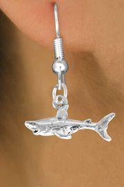 <bR>               EXCLUSIVELY OURS!!<BR>CLICK HERE TO SEE 120+ EXCITING<BR>   CHANGES THAT YOU CAN MAKE!<BR>              LEAD & NICKEL FREE!!<BR>     W520SE - SHARK & EARRINGS<Br>                    FROM $4.50 TO $8.35