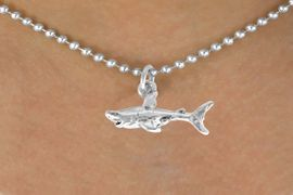 <bR>               EXCLUSIVELY OURS!!<BR>CLICK HERE TO SEE 120+ EXCITING<BR>   CHANGES THAT YOU CAN MAKE!<BR>              LEAD & NICKEL FREE!!<BR>    W520SN - SHARK & NECKLACE<BR>                    AS LOW AS $4.50