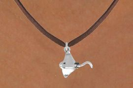 <bR>               EXCLUSIVELY OURS!!<BR>CLICK HERE TO SEE 120+ EXCITING<BR>   CHANGES THAT YOU CAN MAKE!<BR>              LEAD & NICKEL FREE!!<BR> W521SN - STINGRAY & NECKLACE<BR>                   AS LOW AS $4.50