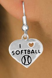 "<bR>              EXCLUSIVELY OURS!!<BR>CLICK HERE TO SEE 120+ EXCITING<BR>   CHANGES THAT YOU CAN MAKE!<BR>              LEAD & NICKEL FREE!!<BR>   W524SE - ""I LOVE SOFTBALL"" &<Br>    EARRINGS FROM $4.50 TO $8.35<BR>                              �2009"