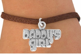 "<bR>               EXCLUSIVELY OURS!!<BR>CLICK HERE TO SEE 120+ EXCITING<BR>   CHANGES THAT YOU CAN MAKE!<BR>              LEAD & NICKEL FREE!!<BR>     W528SB - ""DADDY'S GIRL"" &<Br>        BRACELET AS LOW AS $4.50"
