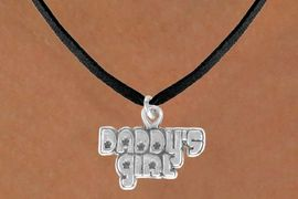 """<bR>               EXCLUSIVELY OURS!!<BR>CLICK HERE TO SEE 120+ EXCITING<BR>   CHANGES THAT YOU CAN MAKE!<BR>              LEAD & NICKEL FREE!!<BR>     W528SN - """"DADDY'S GIRL"""" &<BR>       NECKLACE AS LOW AS $4.50"""