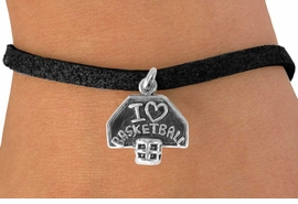 "<bR>             EXCLUSIVELY OURS!!<BR>CLICK HERE TO SEE 120+ EXCITING<BR>  CHANGES THAT YOU CAN MAKE!<BR>             LEAD & NICKEL FREE!!<BR>  W531SB - ""I LOVE BASKETBALL""<BR>    & BRACELET AS LOW AS $4.50"