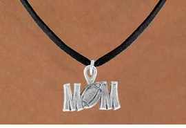 "<bR>               EXCLUSIVELY OURS!!<BR>CLICK HERE TO SEE 120+ EXCITING<BR>   CHANGES THAT YOU CAN MAKE!<BR>              LEAD & NICKEL FREE!!<BR> W532SN - ""FOOTBALL"" MOM &<BR>       NECKLACE AS LOW AS $4.50"