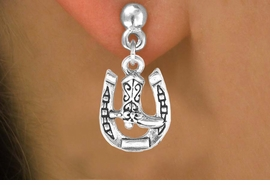 <bR>               EXCLUSIVELY OURS!!<BR>CLICK HERE TO SEE 120+ EXCITING<BR>   CHANGES THAT YOU CAN MAKE!<BR>              LEAD & NICKEL FREE!!<BR>    W535SE - HORSESHOE & BOOT<Br>    ON EARRINGS FROM $4.50 TO $8.35