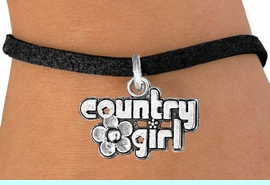 """<bR>               EXCLUSIVELY OURS!!<BR>CLICK HERE TO SEE 120+ EXCITING<BR>   CHANGES THAT YOU CAN MAKE!<BR>              LEAD & NICKEL FREE!!<BR>     W536SB - """"COUNTRY GIRL"""" &<Br>        BRACELET AS LOW AS $4.50"""