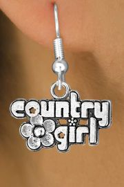 """<bR>              EXCLUSIVELY OURS!!<BR>CLICK HERE TO SEE 120+ EXCITING<BR>   CHANGES THAT YOU CAN MAKE!<BR>              LEAD & NICKEL FREE!!<BR>     W536SE - """"COUNTRY GIRL"""" &<Br>        EARRINGS FROM $4.50 TO $8.35"""