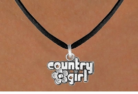 """<bR>               EXCLUSIVELY OURS!!<BR>CLICK HERE TO SEE 120+ EXCITING<BR>   CHANGES THAT YOU CAN MAKE!<BR>              LEAD & NICKEL FREE!!<BR>     W536SN - """"COUNTRY GIRL"""" &<BR>       NECKLACE AS LOW AS $4.50"""