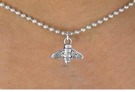 <bR>               EXCLUSIVELY OURS!!<BR>CLICK HERE TO SEE 120+ EXCITING<BR>   CHANGES THAT YOU CAN MAKE!<BR>              LEAD & NICKEL FREE!!<BR>       W537SN - BEE & NECKLACE<BR>                   AS LOW AS $4.50