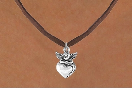 <bR>               EXCLUSIVELY OURS!!<BR>CLICK HERE TO SEE 120+ EXCITING<BR>   CHANGES THAT YOU CAN MAKE!<BR>              LEAD & NICKEL FREE!!<BR>   W538SN - ANGEL WITH HEART &<BR>   NECKLACE FROM $4.50 TO $8.35