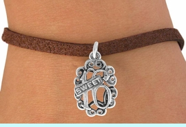 """<bR>               EXCLUSIVELY OURS!!<BR>CLICK HERE TO SEE 120+ EXCITING<BR>   CHANGES THAT YOU CAN MAKE!<BR>              LEAD & NICKEL FREE!!<BR>          W544SB - """"SWEET 16"""" & <Br>       BRACELET AS LOW AS $4.50"""