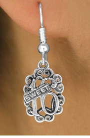 """<bR>              EXCLUSIVELY OURS!!<BR>CLICK HERE TO SEE 120+ EXCITING<BR>   CHANGES THAT YOU CAN MAKE!<BR>              LEAD & NICKEL FREE!!<BR>          W544SE - """"SWEET 16"""" &<Br>       EARRINGS FROM $4.50 TO $8.35"""
