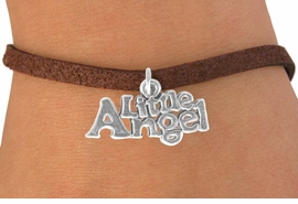 """<bR>               EXCLUSIVELY OURS!!<BR>CLICK HERE TO SEE 120+ EXCITING<BR>   CHANGES THAT YOU CAN MAKE!<BR>              LEAD & NICKEL FREE!!<BR>      W545SB - """"LITTLE ANGEL"""" &<Br>   BRACELET FROM $4.50 TO $8.35"""