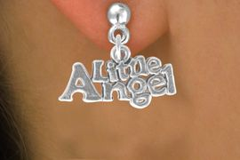 "<bR>               EXCLUSIVELY OURS!!<BR>CLICK HERE TO SEE 120+ EXCITING<BR>   CHANGES THAT YOU CAN MAKE!<BR>              LEAD & NICKEL FREE!!<BR>       W545SE - ""LITTLE ANGEL"" &<Br>      EARRINGS FROM $4.50 TO $8.35"