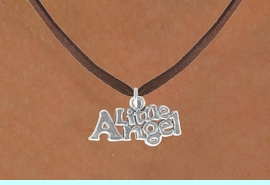 """<bR>               EXCLUSIVELY OURS!!<BR>CLICK HERE TO SEE 120+ EXCITING<BR>   CHANGES THAT YOU CAN MAKE!<BR>              LEAD & NICKEL FREE!!<BR>      W545SN - """"LITTLE ANGEL"""" &<BR>   NECKLACE FROM $4.50 TO $8.35"""