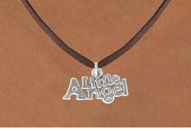"<bR>               EXCLUSIVELY OURS!!<BR>CLICK HERE TO SEE 120+ EXCITING<BR>   CHANGES THAT YOU CAN MAKE!<BR>              LEAD & NICKEL FREE!!<BR>      W545SN - ""LITTLE ANGEL"" &<BR>   NECKLACE FROM $4.50 TO $8.35"