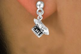 """<bR>              EXCLUSIVELY OURS!!<BR>CLICK HERE TO SEE 120+ EXCITING<BR>   CHANGES THAT YOU CAN MAKE!<BR>              LEAD & NICKEL FREE!!<BR>          W549SE - """"CHEF"""" HAT &<Br>       EARRINGS FROM $4.50 TO $8.35"""