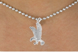 <bR>               EXCLUSIVELY OURS!!<BR>CLICK HERE TO SEE 120+ EXCITING<BR>   CHANGES THAT YOU CAN MAKE!<BR>             LEAD & NICKEL FREE!!<BR>     W559SN - EAGLE & NECKLACE<BR>                   AS LOW AS $4.50