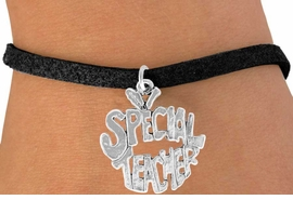 "<bR>               EXCLUSIVELY OURS!!<BR>CLICK HERE TO SEE 120+ EXCITING<BR>   CHANGES THAT YOU CAN MAKE!<BR>              LEAD & NICKEL FREE!!<BR>    W562SB - ""SPECIAL TEACHER""<Br>    ON BRACELET AS LOW AS $4.50"