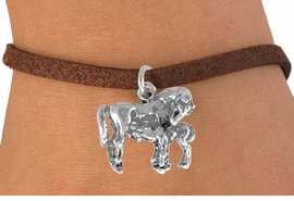 <bR>               EXCLUSIVELY OURS!!<BR>CLICK HERE TO SEE 120+ EXCITING<BR>   CHANGES THAT YOU CAN MAKE!<BR>              LEAD & NICKEL FREE!!<BR>       W563SB - MARE & FOAL ON <Br>       BRACELET AS LOW AS $4.50
