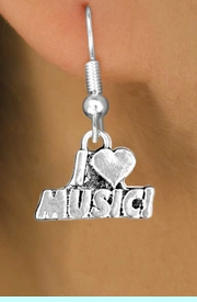 """<bR>               EXCLUSIVELY OURS!!<BR>CLICK HERE TO SEE 120+ EXCITING<BR>   CHANGES THAT YOU CAN MAKE!<BR>              LEAD & NICKEL FREE!!<BR>       W567SE - """"I LOVE MUSIC"""" &<Br>        EARRINGS FROM $4.50 TO $8.35"""