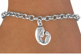 <bR>              EXCLUSIVELY OURS!!<BR>CLICK HERE TO SEE 120+ EXCITING<BR>   CHANGES THAT YOU CAN MAKE!<BR>              LEAD & NICKEL FREE!!<BR> W571SB - MOTHER AND CHILD ON<Br>    BRACELET FROM $4.50 TO $8.35