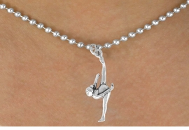 <bR>               EXCLUSIVELY OURS!!<BR>CLICK HERE TO SEE 120+ EXCITING<BR>   CHANGES THAT YOU CAN MAKE!<BR>              LEAD & NICKEL FREE!!<BR>      W585SN - FLOOR GYMNAST &<BR>        NECKLACE AS LOW AS $4.50
