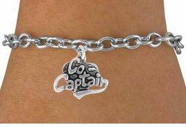 "<bR>               EXCLUSIVELY OURS!!<BR>CLICK HERE TO SEE 120+ EXCITING<BR>   CHANGES THAT YOU CAN MAKE!<BR>              LEAD & NICKEL FREE!!<BR>       W586SB - ""CO-CAPTAIN"" &<Br>       BRACELET AS LOW AS $4.50"