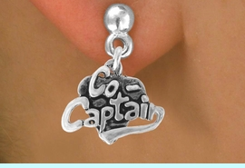 """<bR>               EXCLUSIVELY OURS!!<BR>CLICK HERE TO SEE 120+ EXCITING<BR>   CHANGES THAT YOU CAN MAKE!<BR>              LEAD & NICKEL FREE!!<BR>         W586SE - """"CO-CAPTAIN"""" &<Br>        EARRINGS FROM $4.50 TO $8.35"""