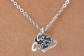 """<bR>               EXCLUSIVELY OURS!!<BR>CLICK HERE TO SEE 120+ EXCITING<BR>   CHANGES THAT YOU CAN MAKE!<BR>              LEAD & NICKEL FREE!!<BR>       W586SN - """"CO-CAPTAIN"""" &<BR>        NECKLACE AS LOW AS $4.50"""