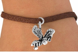 "<bR>               EXCLUSIVELY OURS!!<BR>CLICK HERE TO SEE 120+ EXCITING<BR>   CHANGES THAT YOU CAN MAKE!<BR>              LEAD & NICKEL FREE!!<BR>       W591SB - ""SMILING BEE"" &<Br>        BRACELET AS LOW AS $4.50"