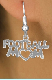 """<bR>               EXCLUSIVELY OURS!!<BR>CLICK HERE TO SEE 120+ EXCITING<BR>   CHANGES THAT YOU CAN MAKE!<BR>              LEAD & NICKEL FREE!!<BR>    W596SE - """"FOOTBALL MOM"""" &<Br>        EARRINGS FROM $4.50 TO $8.35"""