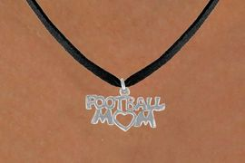 """<bR>               EXCLUSIVELY OURS!!<BR>CLICK HERE TO SEE 120+ EXCITING<BR>   CHANGES THAT YOU CAN MAKE!<BR>              LEAD & NICKEL FREE!!<BR>   W596SN - """"FOOTBALL MOM"""" &<BR>        NECKLACE AS LOW AS $4.50"""