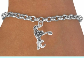 <bR>               EXCLUSIVELY OURS!!<BR>CLICK HERE TO SEE 120+ EXCITING<BR>   CHANGES THAT YOU CAN MAKE!<BR>              LEAD & NICKEL FREE!!<BR>   W597SB - POM CHEERLEADER &<Br>        BRACELET AS LOW AS $4.50
