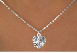 <bR>               EXCLUSIVELY OURS!!<BR>CLICK HERE TO SEE 120+ EXCITING<BR>   CHANGES THAT YOU CAN MAKE!<BR>              LEAD & NICKEL FREE!!<BR>  W599SN - BARREL RACER HEART<BR>     & NECKLACE AS LOW AS $4.50