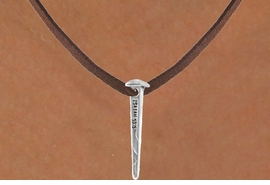 "<bR>               EXCLUSIVELY OURS!!<BR>CLICK HERE TO SEE 120+ EXCITING<BR>   CHANGES THAT YOU CAN MAKE!<BR>              LEAD & NICKEL FREE!!<BR>   W602SN - ""ISAIAH 53:5"" NAIL &<BR>    NECKLACE FROM $4.50 TO $8.35"