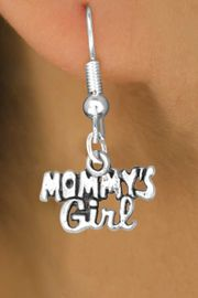 "<bR>             EXCLUSIVELY OURS!!<BR>CLICK HERE TO SEE 125+ EXCITING<BR>  CHANGES THAT YOU CAN MAKE!<BR>            LEAD & NICKEL FREE!!<BR>  W382SE - ""MOMMY'S GIRL"" &<Br>        EARRING FROM $4.50 TO $8.35"