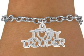 <bR>              EXCLUSIVELY OURS!!<BR>CLICK HERE TO SEE 500+ EXCITING<BR> CHANGES THAT YOU CAN MAKE!<BR>             LEAD & NICKEL FREE!!<BR>W793SB - I LOVE MY TROOPER<BR>  & BRACELET FROM $4.50 TO $8.35