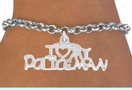 <bR>              EXCLUSIVELY OURS!!<BR>CLICK HERE TO SEE 500+ EXCITING<BR> CHANGES THAT YOU CAN MAKE!<BR>             LEAD & NICKEL FREE!!<BR>W794SB - I LOVE MY POLICE MAN<BR>  & BRACELET FROM $4.50 TO $8.35