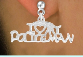 <bR>             EXCLUSIVELY OURS!!<BR>CLICK HERE TO SEE 500+ EXCITING<BR> CHANGES THAT YOU CAN MAKE!<BR>            LEAD & NICKEL FREE!!<BR>  W794SE - I LOVE MY POLICEMAN <Br>   & EARRING FROM $4.50 TO $8.35