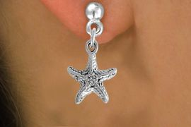 <bR>             EXCLUSIVELY OURS!!<BR>CLICK HERE TO SEE 500+ EXCITING<BR> CHANGES THAT YOU CAN MAKE!<BR>            LEAD & NICKEL FREE!!<BR>             W801SE - STAR FISH<Br>   & EARRING FROM $4.50 TO $8.35
