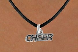 """<bR>             EXCLUSIVELY OURS!!<BR>CLICK HERE TO SEE 600+ EXCITING<BR> CHANGES THAT YOU CAN MAKE!<BR>            LEAD & NICKEL FREE!!<BR>             W911SN - """"CHEER"""" &<Br> NECKLACE  FROM $5.55 TO $9.00"""