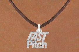 """<bR>             EXCLUSIVELY OURS!!<BR>CLICK HERE TO SEE 600+ EXCITING<BR> CHANGES THAT YOU CAN MAKE!<BR>            LEAD & NICKEL FREE!!<BR>       W912SN - """"FAST PITCH"""" &<Br> NECKLACE  FROM $5.55 TO $9.00"""