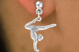 "<bR>              EXCLUSIVELY OURS!!<BR> CLICK HERE TO SEE 65+ EXCITING<BR>   CHANGES THAT YOU CAN MAKE!<BR>             LEAD & NICKEL FREE!!<BR> W201SE - ""GYMNAST ON HANDS""<Br>      & EARRING FROM $4.50 TO $8.35"